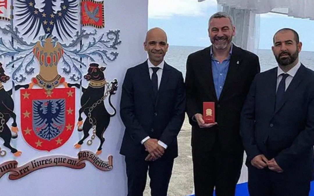 Civil Merit Award Received in the Azores